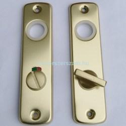 ajtócím bejárati lövér toalett kulcsos zártakaró zárcimke elzett zárak Centerszerszám