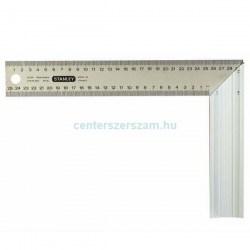 Stanley asztalos derékszög alumínium 250mm, derékszögek, Mérőeszközök, Méréstechnika, Sola, Topex, Centerszerszám