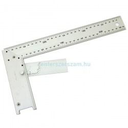 Asztalos derékszög szögállítóval alumínium 300mm, derékszögek, Mérőeszközök, Méréstechnika, Sola, Topex, Stanley, Centerszerszám