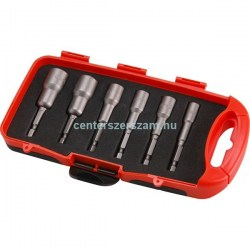 behajtófej készlet hatlapfejű csavarokhoz  db mm bithegy ph pz torx csillag lapos mm csavarozó tartozékok behajtó adapter ipari géptartozékok Extol-Pemium  Barkácsbolt Centerszerszám