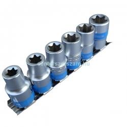 belső torx dugókulcs készlet 3-8 colos, e-star dugó, E, Autószerelő célszerszámok, Yokito, Centerszerszám