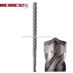 betonfúró szár sds-plusz négy élű Nemesis Zentro Makbuster vidiás kőzetfúró 5mm hengeres szárú fúrószár  fúrógép  építőipari géptartozékok barkácsbolt Makita Centerszerszám