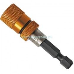 bit tartó befogató adapter bittartó szár mágneses kuplungos toldószár teleszkópos ipari géptartozékok Neo Tools Centerszerszám