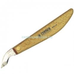 Fafaragó kés, favéső, asztalosvéső, lapos favéső, fafaragó véső, faragó véső, fanyelű, műanyag nyelű véső, asztalos faipari szerszámok, Narex, Stanley, Centerszerszám