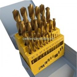 fémfúrószár készlet  hss  TITÁNOS köszörült fém fúrószár  forgácsoló géptartozékok Profi olcsó tartozékok Centerszerszám