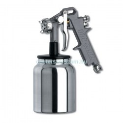 Festékszóró pisztoly alsó tartályos kompresszorhoz 1000ml levegős gépek, fúvató pisztoly GAV Centerszerszám