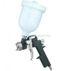 Festékszóró pisztoly felső tartályos kompresszorhoz 600ml levegős gépek, fúvató pisztoly Z-tools Centerszerszám