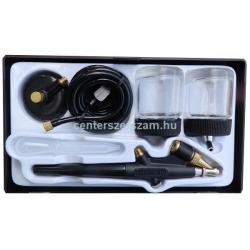 Festékszóró pisztoly mini 5 db-os készletben, 62,5g edénnyel