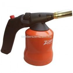 forrasztó lámpa lágyforrasztás gázlámpa fém házas gázforrasztó eldobható 190 gr gázpalack piezo gyújtós akciós olcsó Centerszerszám