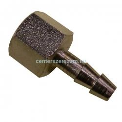 Levegős csatlakozó belső menetes, tömlővéges 1/4coll,  6mm