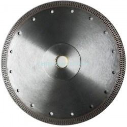 Gyémántvágó korong extra vékony csempevágó folyamatos vágóél gyémántkorong Profi géptartozékok vágótárcsa 230mm sarokcsiszoló flexkorong Abraboro Chili vágókorong Centerszerszám