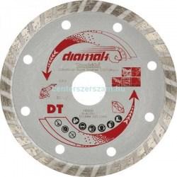Gyémántvágó korong turbó vágóél gyémántkorong Profi géptartozékok vágótárcsa 115mm sarokcsiszoló flexkorong Makita Diamak Centerszerszám