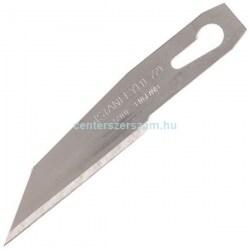 Intarzia kés pótpenge, cserepenge alumínium házas, dekorkés, interlock, fémházas kések, 9mm, 18 mm, pvc vágó kés, penge, üvegkaparó, Stanley 0-11-221, Olfa, Stanley, Centerszerszám