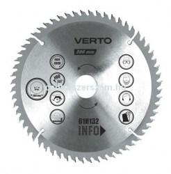 vídiás körfűrészlap körfűrész 160mm fogú faipari szerszámok fűrész favéső  marófej körfűrész Barkácsbolt Szerszámbolt Verto  Centerszerszám