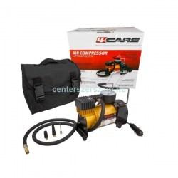 12 V-os mini kompresszor autó szivargyújtóról működő kerékfújás labda matrac pumpálás kempingezés autófelszerelési cikkek Centerszerszám