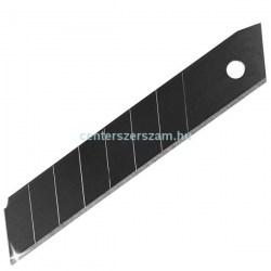 Törhető tapétavágó karbon fekete kés pengék 18mm-es 10 darabos, Kések, Vágóeszközök, Olfa, Abraboro, Centerszerszám