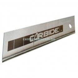 Tapétavágókés penge 18mm-es, karbid bevonatos Stanley STHT0-11818,PVC vágó Kések, Vágóeszközök, Sniccer, Olfa, Extol, Centerszerszám