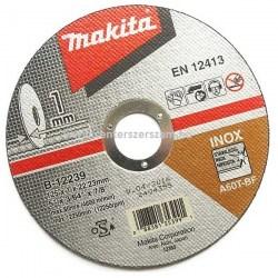 vágótárcsa vágókorong flexkorong fém inox 115mm 1mm vékony Makita Centerszerszám