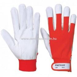 védő  rakodó szín bőr kesztyű munkavédelmi kesztyűk Portwest A250 Tergsus Centerszerszám