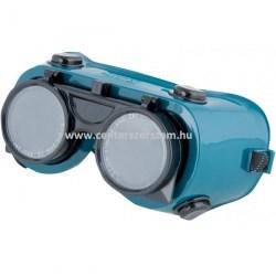 munkavédelmi szemüveg olcsó védőszemüveg sötétített uv karcolás karc mentes elleni védelem munkaruházat hegesztő szemüveg felhajtható Centerszerszám