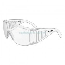 munkavédelmi szemüveg védőszemüveg uv víztiszta karc mentes karcolás elleni védelem munkaruházat Centerszerszám