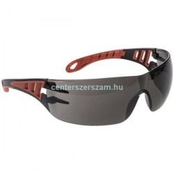 munkavédelmi szemüveg védőszemüveg uv sötétített füstszínű karc mentes karcolás elleni védelem munkaruházat Centerszerszám