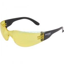 munkavédelmi szemüveg sárga védőszemüveg uv karcolás karc mentes elleni védelem munkaruházat Centerszerszám