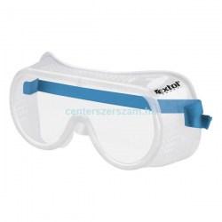 munkavédelmi szemüveg védőszemüveg zárt gumipántos uv karcolás karc mentes elleni védelem munkaruházat Centerszerszám